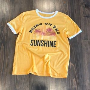 Bring on the sunshine tee